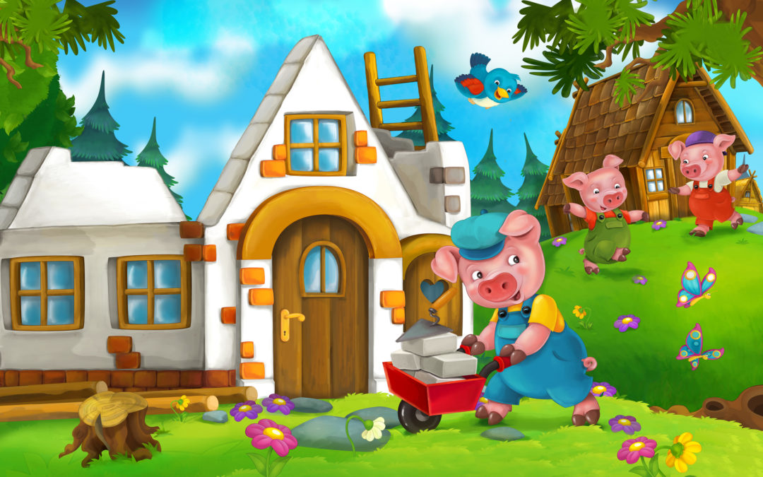 Writing Lessons with The Three Little Pigs (Creative Writing for Multiple Ages)
