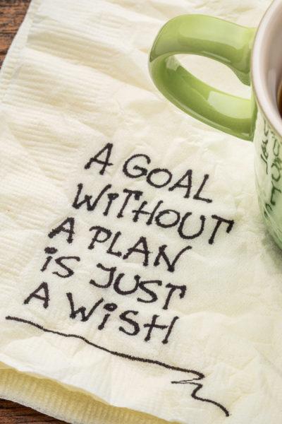 An Intentional Year: Make a Plan