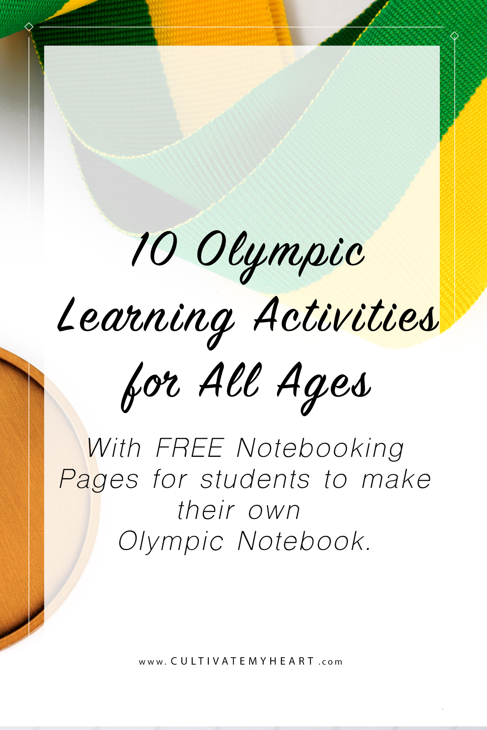 Teach multiple subjects while enjoying the Olympics! The 2018 Winter Olympics are a great opportunity to enjoy fun learning activities in your homeschool no matter what ages your children are. Includes FREE notebooking pages for students to create their own Olympic notebook.