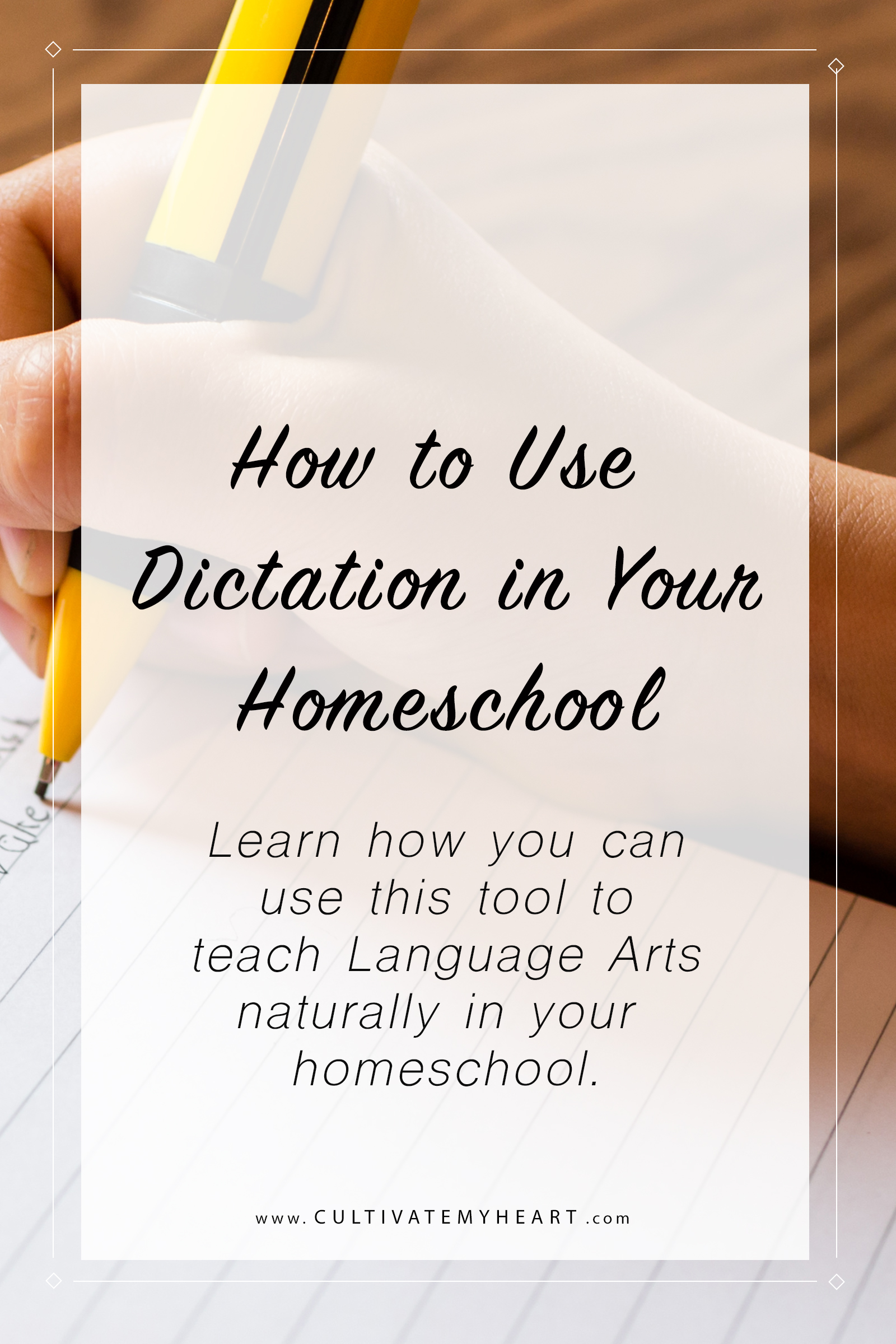 Do you want to simplify teaching Language Arts in your homeschool? When you teach it naturally, you use tools that are effective and powerful. In this part of the series