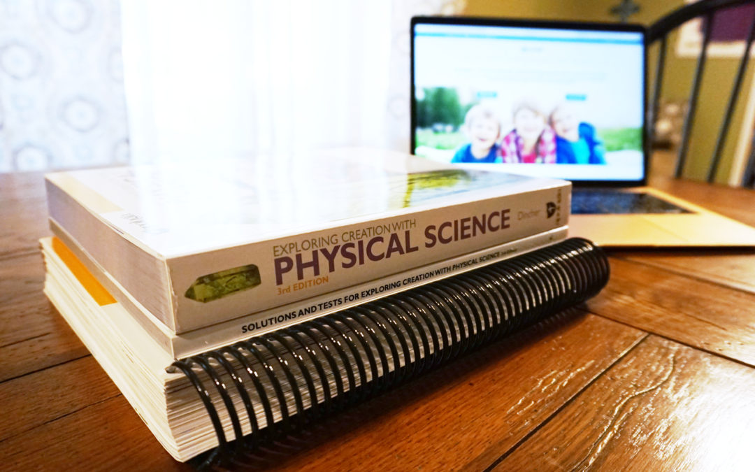Why Apologia Physical Science Will Prepare Your Students for High School