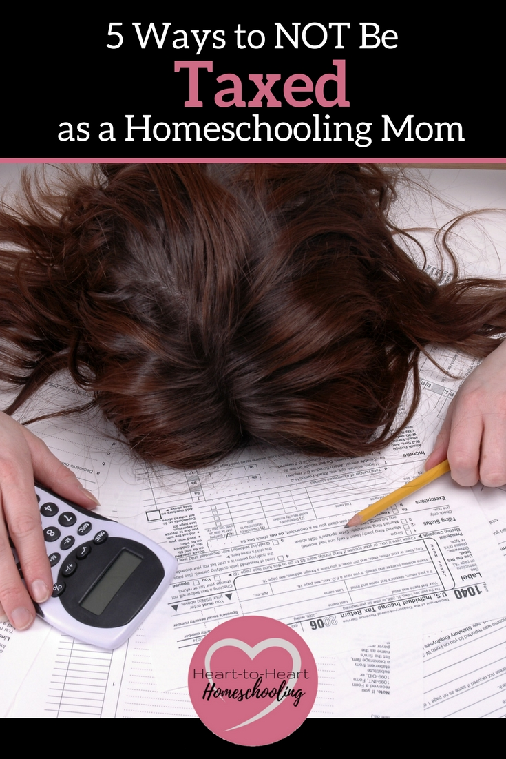 It is easy to get overwhelmed as a homeschooling mom. But you don't have to feel taxed to your limit. Find out 5 ways you can be a untaxed homeschooling mom.