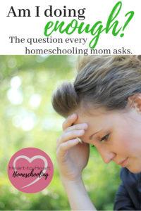 fear, homeschooling