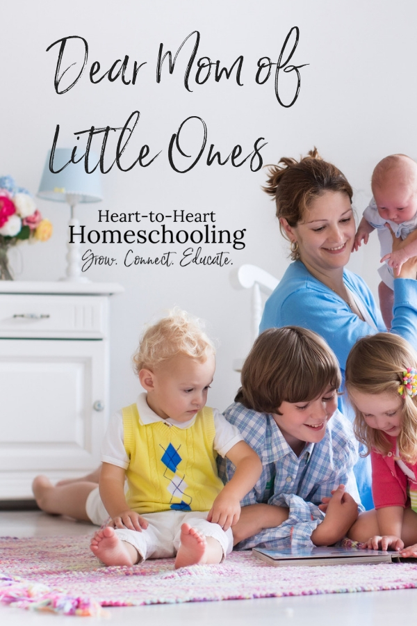 Parenting toddlers and young children can be hard! What advice would I give to moms of little ones now that my kids are older? Simply this: a little perspective will help you to be a better mom. #parenting #homeschool #homeschooling | homeschool | homeschooling | parenting | parenting encouragement | parenting toddlers | parenting young children