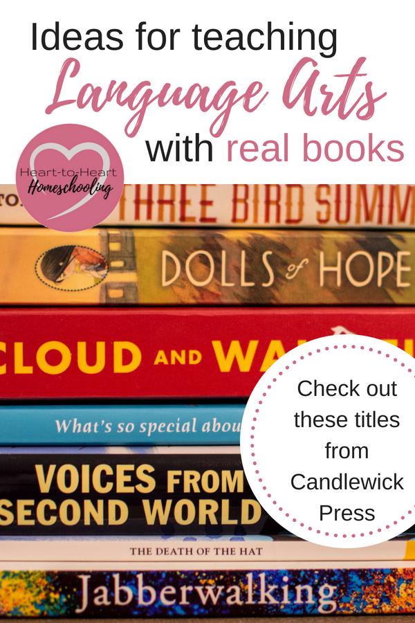 Candlewick press, books, teaching language arts