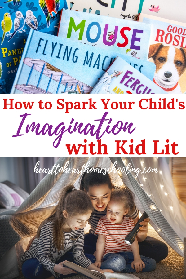 Spark your child's imagination with these easy to use ideas. Candlewick Press kid lit is perfect for igniting your children's creativity. #homeschool #homeschooling | homeschool activities | homeschool resources | homeschooling preschool | homeschooling kindergarten | homeschooling elementary | kid lit | children's books | picture books