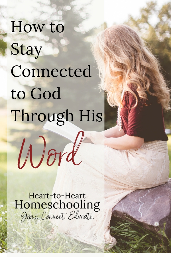 As a busy homeschooling mom, it is easy not to take time for yourself. But we need time to fill ourselves up with Scripture if we want to give to our children daily. #homeschooling #homeschool #faith | homeschool | homeschool mom | homeschool Christian | Bible study for beginners | Bible study for women | Bible study ideas | Bible study methods | Bible study tips | Bible study for moms | Bible study inspiration