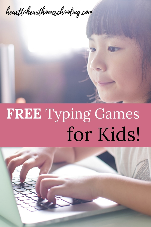 You can use FREE typing games to teach your kids touch typing with KidzType and TypeDojo! A great resource for all your kids no matter what level they are. #homeschool #homeschooling | homeschool resources reviews | homeschool typing program | free typing games | typing games | online typing