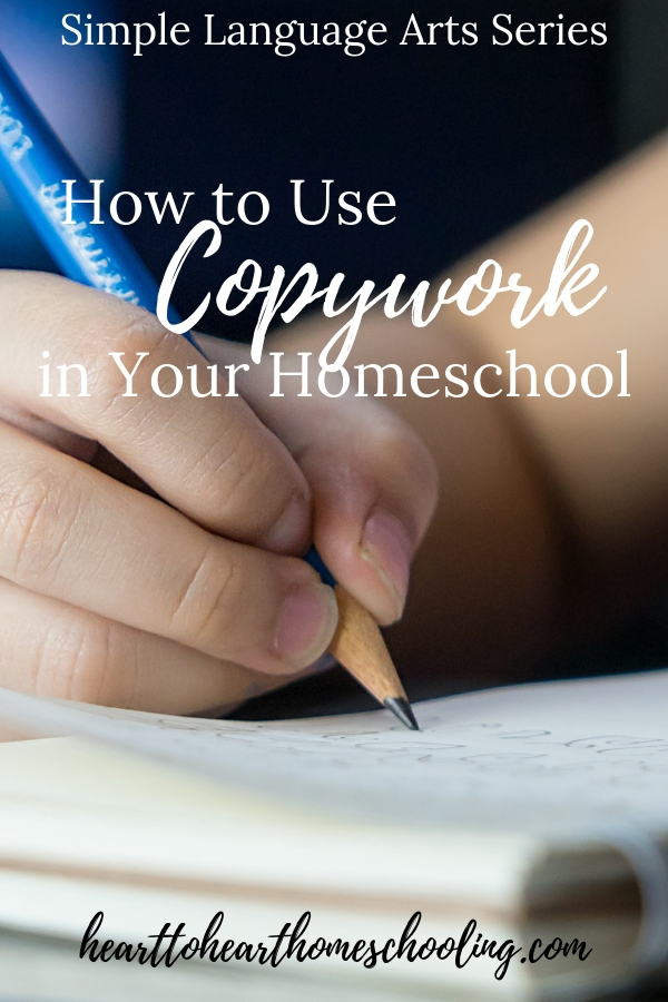 Teach language arts naturally using copywork. Learn 7 ways you can use copywork in your homeschool. #homeschooling #copywork | natural learning methods | copywork | Brave Writer | homeschool | homeschooling | teach language arts
