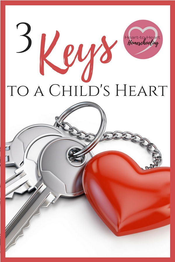 How can you educate your children's minds if you don't have their hearts first? Discover three keys to unlock the hearts of your children so you can homeschool successfully.