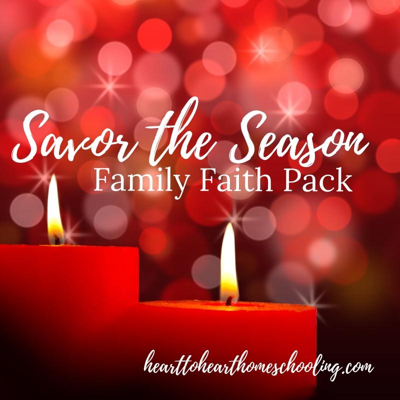 Savor the Season: Family Faith Pack