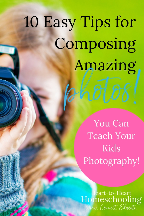 Teach your kids to take better pics with these simple photography tips! And then check out our delightfully different homeschool group and co-op curriculum combining teaching poetry and photography! #homeschool #photography | homeschooling | homeschool group | homeschool co-op | homeschool curriculum | homeschool group curriculum | poetry | photography | teach kids photography