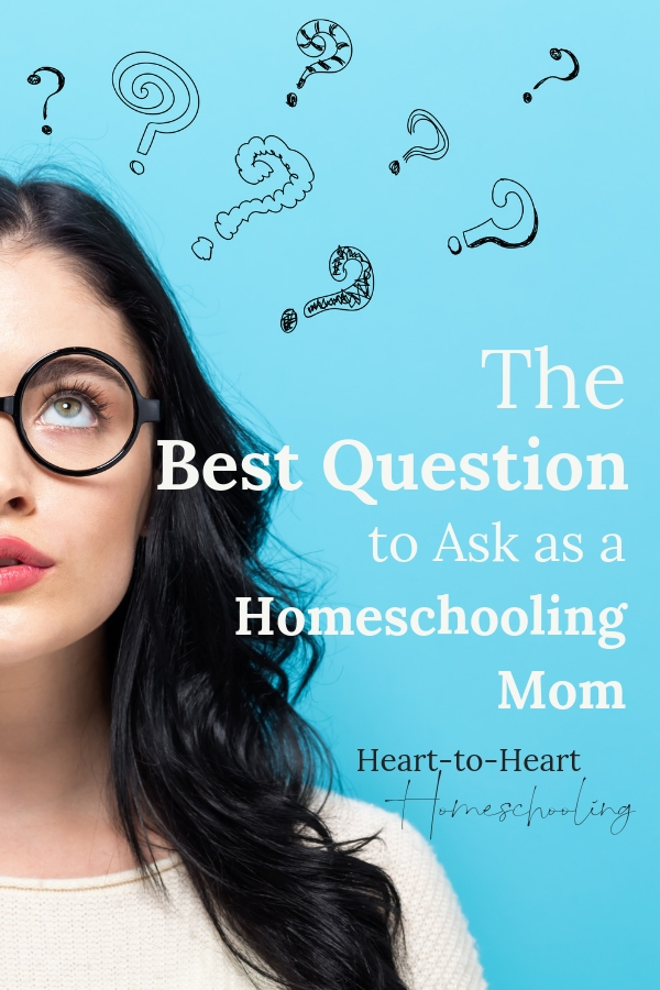 As homeschooling moms we constantly ask questions. Am I doing enough? What does