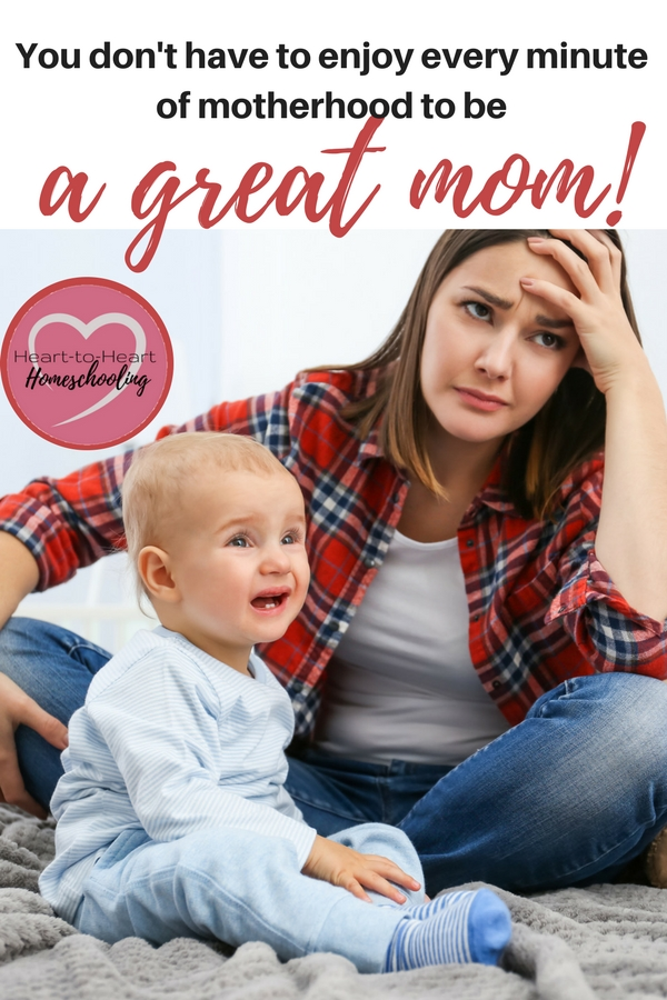 Let me encourage you, Dear Mom of Little Ones. You don't have to enjoy every minute of motherhood. That is silly. So here is some different advice. Treasure. Learn three things you can treasure as a Christian mom that will sustain you. #parenting #homeschooling | encouragement | homeschool | homeschooling | parenting | mom life | parenting babies | parenting toddlers