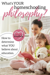 homeschooling philosophy, philosophy of education