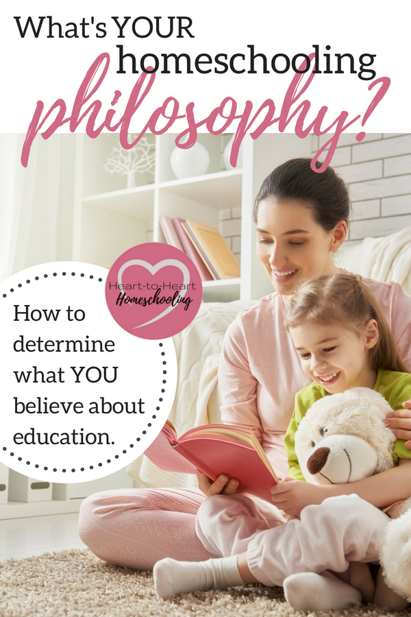A philosophy of education is simply what you believe about education, teaching, and learning. But how do you determine what your is? #homeschool #homeschooling #homeschoolphilosophy | how to homeschool | homeschool philosophy | homeschool curriculum | homeschool methods | homeschooling | education | how to teach